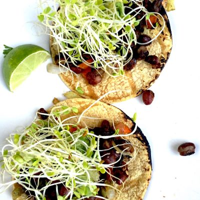 David's Tulum Black Bean Tacos