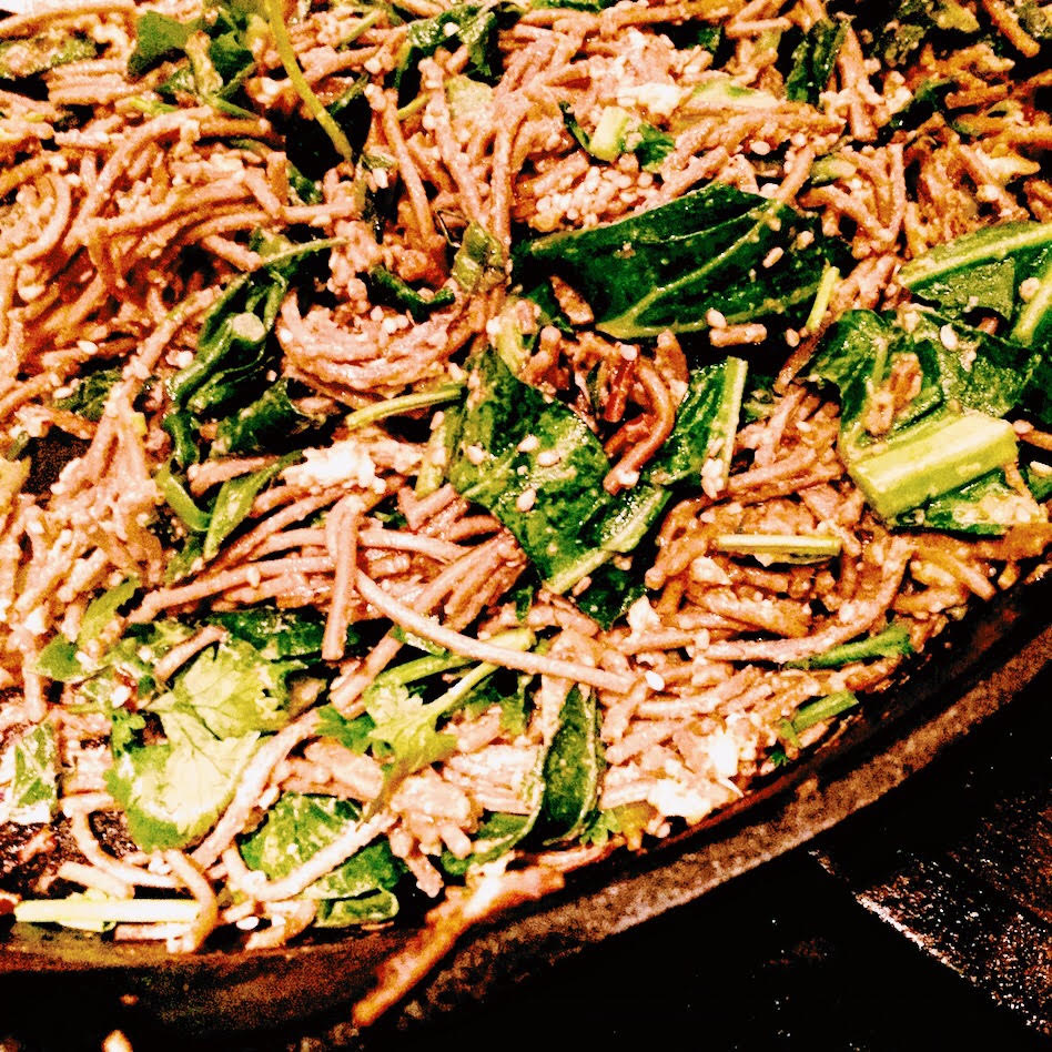 Spicy Chinese Noodles with Collard Greens – Ageless Diet Life