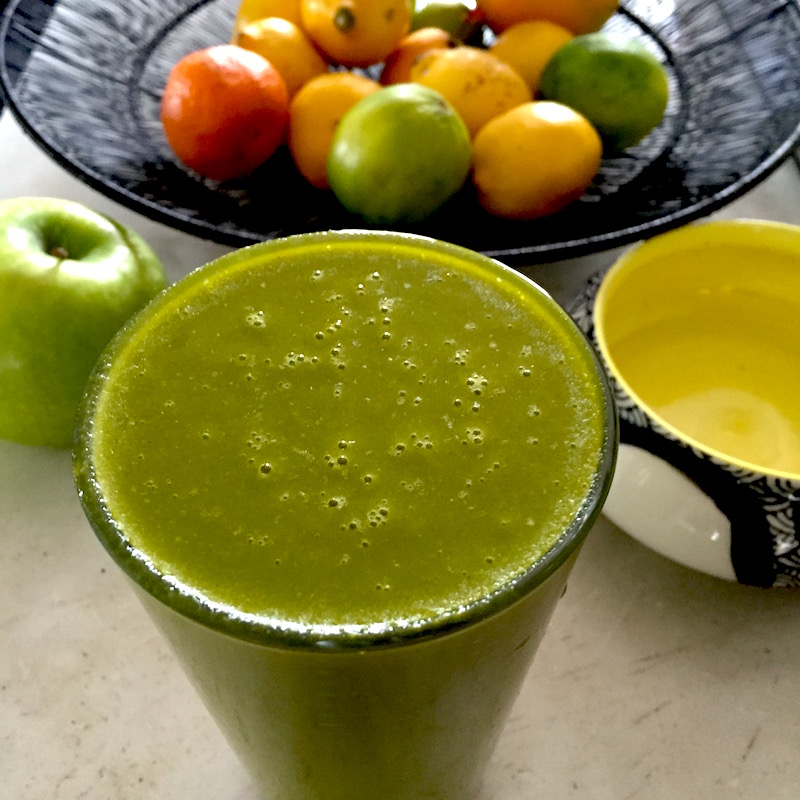 Golden Beet & Citrus Smoothie a.k.a. Electric Green Smoothie