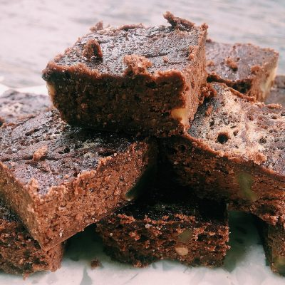 Dark Chocolate Black Bean Brownies