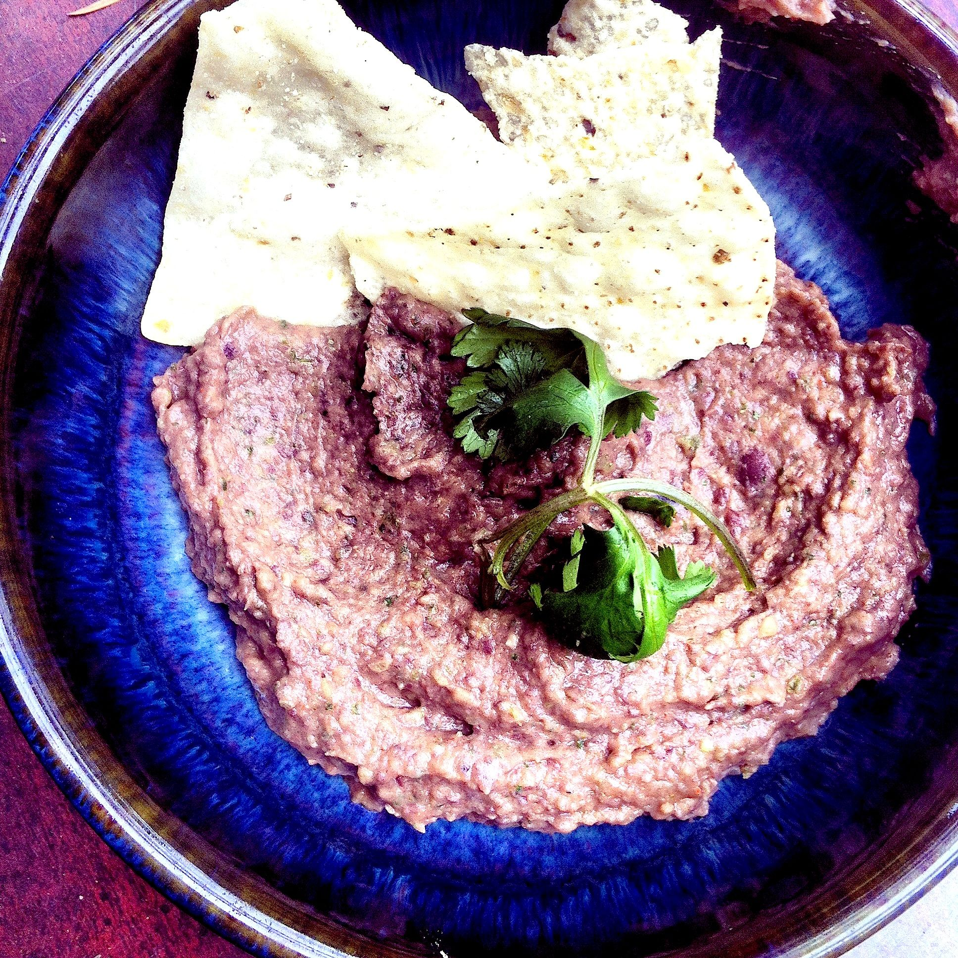 Black Bean Dip, Best and Easiest Dip. It's gluten-free, vegan, high in fiber.