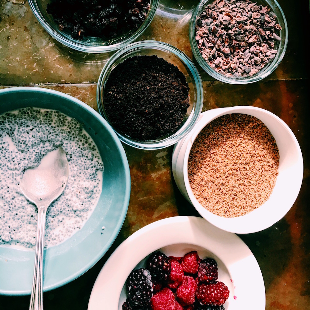 The base for any and all chia seed pudding