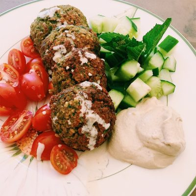 The best tasting falafel you'll ever make. And yes, they're baked.