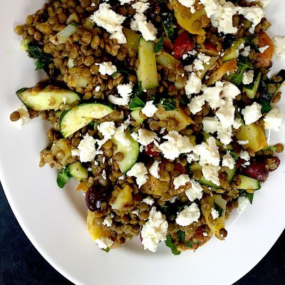 French Lentil Salad with Fingerling Potatoes
