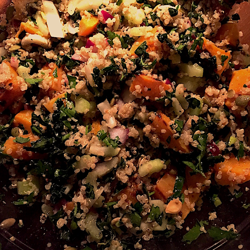 Enjoy grain bowls all the time, try a Roasted Winter Veggie Quinoa Bowl
