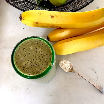 "Gratitude Smoothie: The Superfood Banana ""Milk"" Shake"