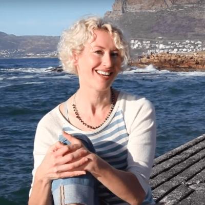 Tania Van Pelt, of Ageless Diet, talking about weight gain, inflammation, on Kalk Bay
