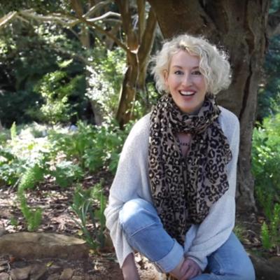 Tania Van Pelt, creator of Ageless Diet, Optimal Life, at Kirstenbosch Gardens in South Africa