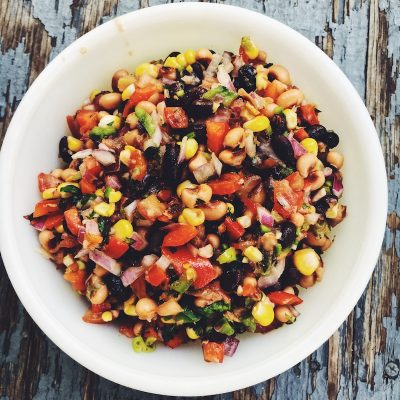 Cowboy Caviar, fresh, healthy, easy, tasty